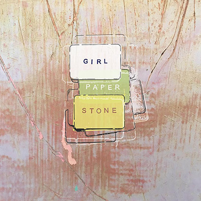 girl paper stone by laurie filipelli
