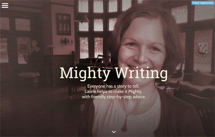 Project: MightyWriting.org