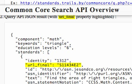 standards.trails.by: an open commoncore search API