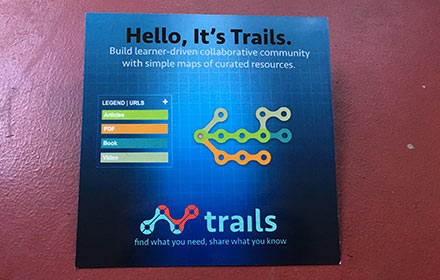 trails.by: learner-driven collateral